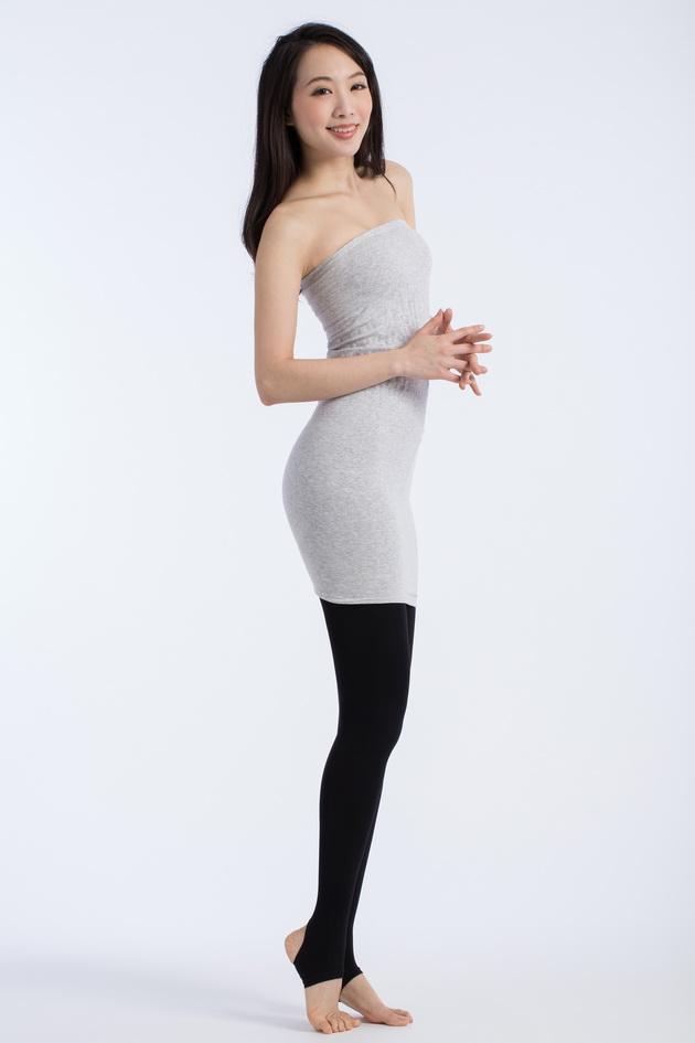 fashion超彈力踩腳褲襪120D 2