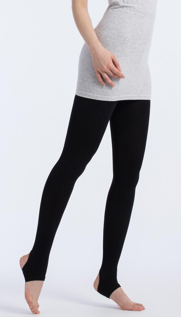 fashion超彈力踩腳褲襪120D 1