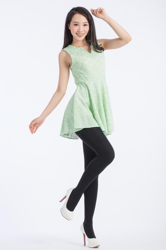 fashion-240D裏起毛顯瘦褲襪 1